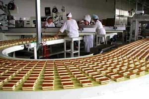 Организация процесса производства кондитерской фабрики