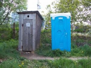 уличный туалет