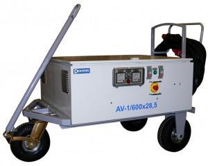Двухканальный аэродромный выпрямитель тока 28 В серии AV от Dekomir.