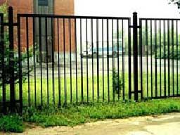 секционный металлический забор
