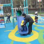 Качественное покрытие для детских площадок