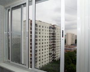 остеклению балконов алюминиевым профилем