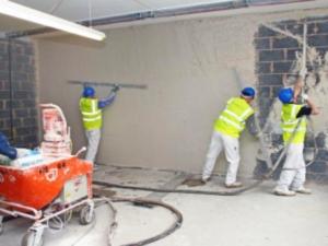 Применение штукатурных станций для ускорения строительных работ