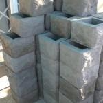 бетонные блоки для заборов