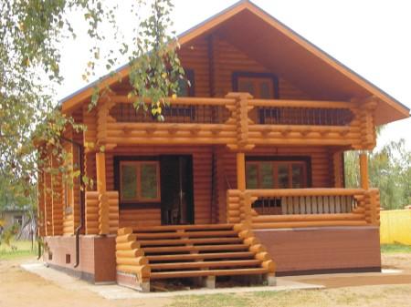 дом из древесины