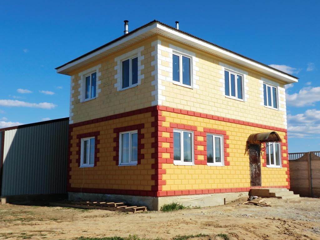 Как построить дом из блока недорого своими руками