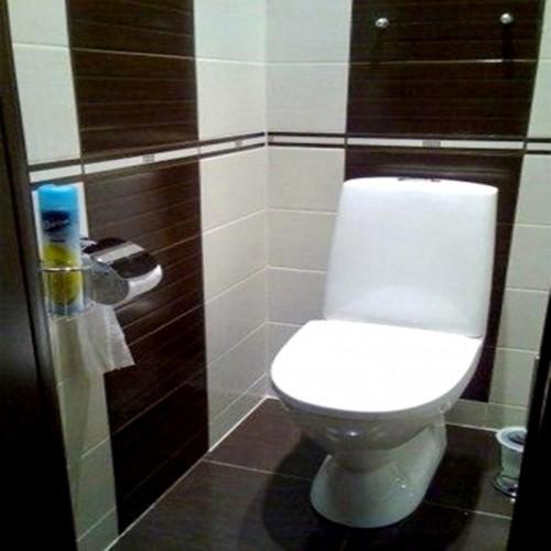 Ремонтные работы в туалетной комнате
