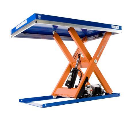 Подъемные столы: свойства и применение